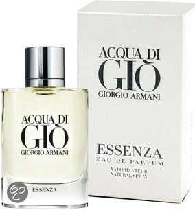 Armani Acqua Di Gio Homme Essenza - Heren Parfum
